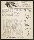view Saul Steinberg to Hedda Sterne digital asset number 1
