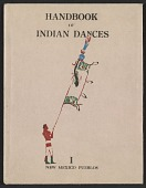 view Indian ceremonial dances in the Southwest, a block-book digital asset: cover