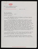 view Dupont Plastics Products Division letter to Kay Sekimachi Stocksdale digital asset number 1