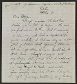 view Berenice Abbott letter, Berlin, Germany, to John Henry Bradley Storrs, Paris, France digital asset number 1