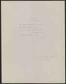 """view John Henry Bradley Storrs poem """"Spring (in war time)"""" digital asset number 1"""