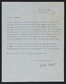 view George Antheil letter to John Henry Bradley Storrs with enclosed broadside digital asset number 1