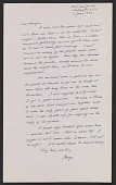 view George Leslie Stout letter to Margaret Hayes Stout digital asset number 1