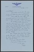 view George Leslie Stout letter to Margaret Hayes Stout digital asset number 1