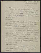 view George Stout letter to his wife Margaret Stout digital asset: page