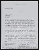 view George Sugarman papers digital asset: Northwestern University