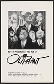 view Exhibition announcement for <em>Seven Presidents: the art of Oliphant</em> digital asset number 1
