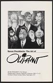 view Exhibition announcement for <em>Seven Presidents: the art of Oliphant</em> digital asset number 1