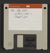 view Page Allen floppy disk of contacts digital asset number 1
