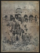view Mimi Gross, Paul Suttman, Elisse Pogofsky-Harris, Edith Schloss and Red Grooms (kneeling) in St. Marks Piazza, Venice, Italy digital asset number 1