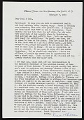 view Renee and Chaim Gross, New York, N.Y. letter to Paul and Gwin Suttman digital asset number 1