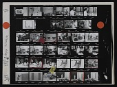 view Contact sheet with images of Andrew Hudson, William Christenberry, and Gene Davis digital asset number 1