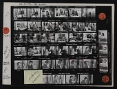 view Contact sheet with images of Maria Da Conceicoa in studio and Rebecca Davenport in studio digital asset number 1