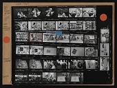 view Contact sheet with images of Jane Dow, Sam Gilliam, Sam Dutters, and others digital asset number 1