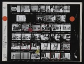 view Contact sheet with images of Andrew Hudson, Bill Christenberry, and Gene Davis digital asset number 1