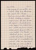view Lenore Tawney letter to Toshiko Takaezu digital asset number 1
