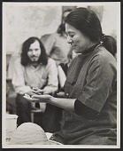 view Toshiko Takaezu at the potter's wheel digital asset number 1