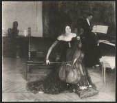 view Reproduction of <em>The cello lesson</em>, painting by Henry O. Tanner digital asset number 1