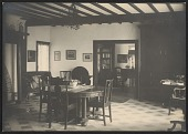 view Interior of Edgewood; the Tanner home in Trepied, France digital asset number 1