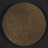 view Henry Ossawa Tanner's <em>Exposition Universelle</em> award medal digital asset number 1