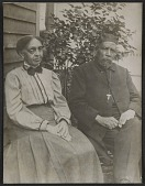 view Mrs. Tanner and Bishop Benjamin Tucker Tanner, mother and father of Henry Ossawa Tanner digital asset number 1