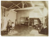 view Henry Ossawa Tanner at work in his studio digital asset number 1