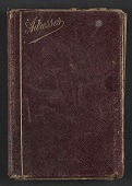 view Henry Ossawa Tanner's address book digital asset: cover