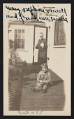 view Photograph of Mary Josephine Ferrell Cannon and her grandmother, Emeline Souther Tarbell digital asset number 1