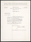 view Woodstock Artists Association, Woodstock, N.Y. letter to Andrée Ruellan, Shady, N.Y. digital asset: page 1