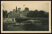 view Aaron Copeland, Paris, France postcard to Prentiss Taylor, Saratoga Springs, N.Y. digital asset number 1