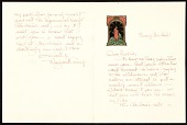 view Margaret Casey christmas card to Prentiss Taylor digital asset number 1
