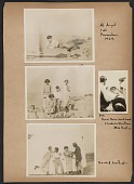 view Prentiss Taylor photograph album of friends and family digital asset: page 1