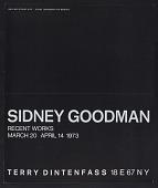 view Terry Dintenfass exhibition announcement for <em>Sidney Goodman: Recent works</em> digital asset: front