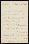 view Mary Thayer letter to unidentified recipient digital asset number 1