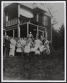 view Gerald H. Thayer and Alma Wollerman's wedding in Dublin, New Hampshire digital asset number 1