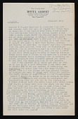 view May Sarton letter to Polly Thayer digital asset number 1