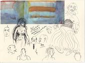 view Figure Sketches (Including James Joyce) digital asset number 1