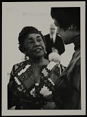 view Photograph of Alma Thomas at the opening of her exhibition at the Whitney Museum of American Art digital asset number 1