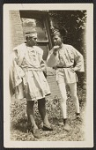 view Costumes designed by Alma Thomas for Howard University Players, unidentified men in photographs digital asset number 1