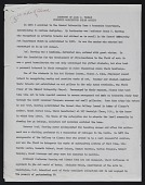 view Autobiographical writing by Alma Thomas concerning James W. Herring and Alonzo Aden digital asset: page 1