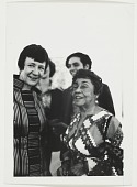 view Photograph of Alma Thomas and unidentified woman at the Whitney Museum of American Art digital asset number 1