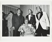 view Alma Thomas with three unidentified men digital asset number 1