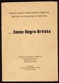 view <em>...Some Negro Artists</em> exhibition catalog digital asset number 1