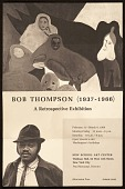 "view ""Bob Thompson (1937-1966) A Retrospective Exhibition"" digital asset number 1"