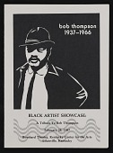 view Announcement for <em>Black artists showcase: a tribute to Bob Thompson</em> digital asset: cover