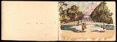 view Daniel Varney Thompson sketchbook of children at Tuileries Palace, France digital asset number 1