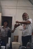 view Constance Lewallen and John Baldessari in his studio digital asset number 1