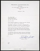 view Timothy E. Scott, Cleveland, Ohio letter to George Tooker, New York, N.Y. digital asset number 1