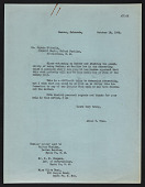 view Allen Tupper True letter to Sophie D. Aberle digital asset number 1