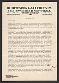 view Leroy Dudensing letter to Herman Trunk digital asset number 1